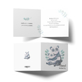 Kartka z życzeniami na Dzień Matki pandy