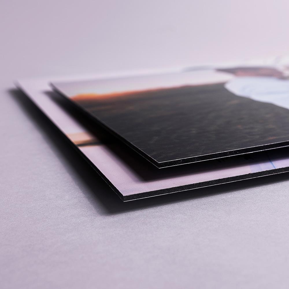 fotoObraz na aluminium białym 40x40 cm