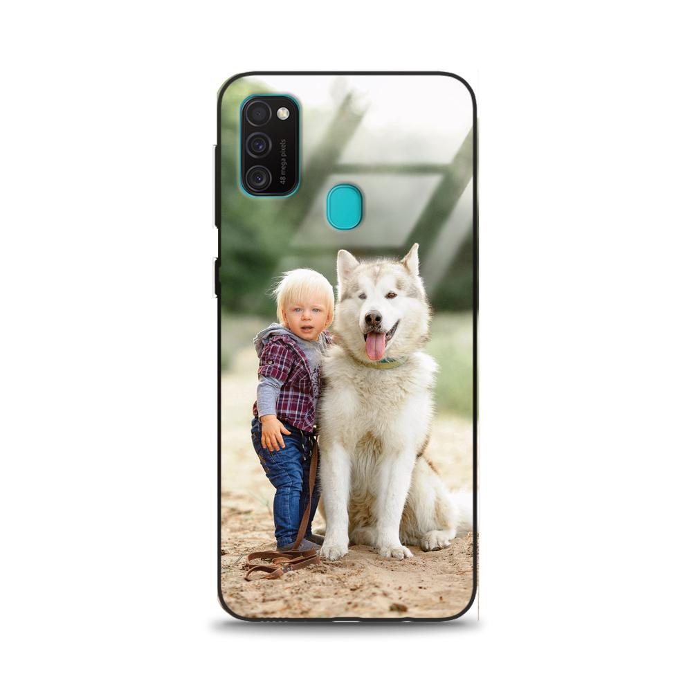 Etui case na telefon Samsung Galaxy M21 ze zdjęciem