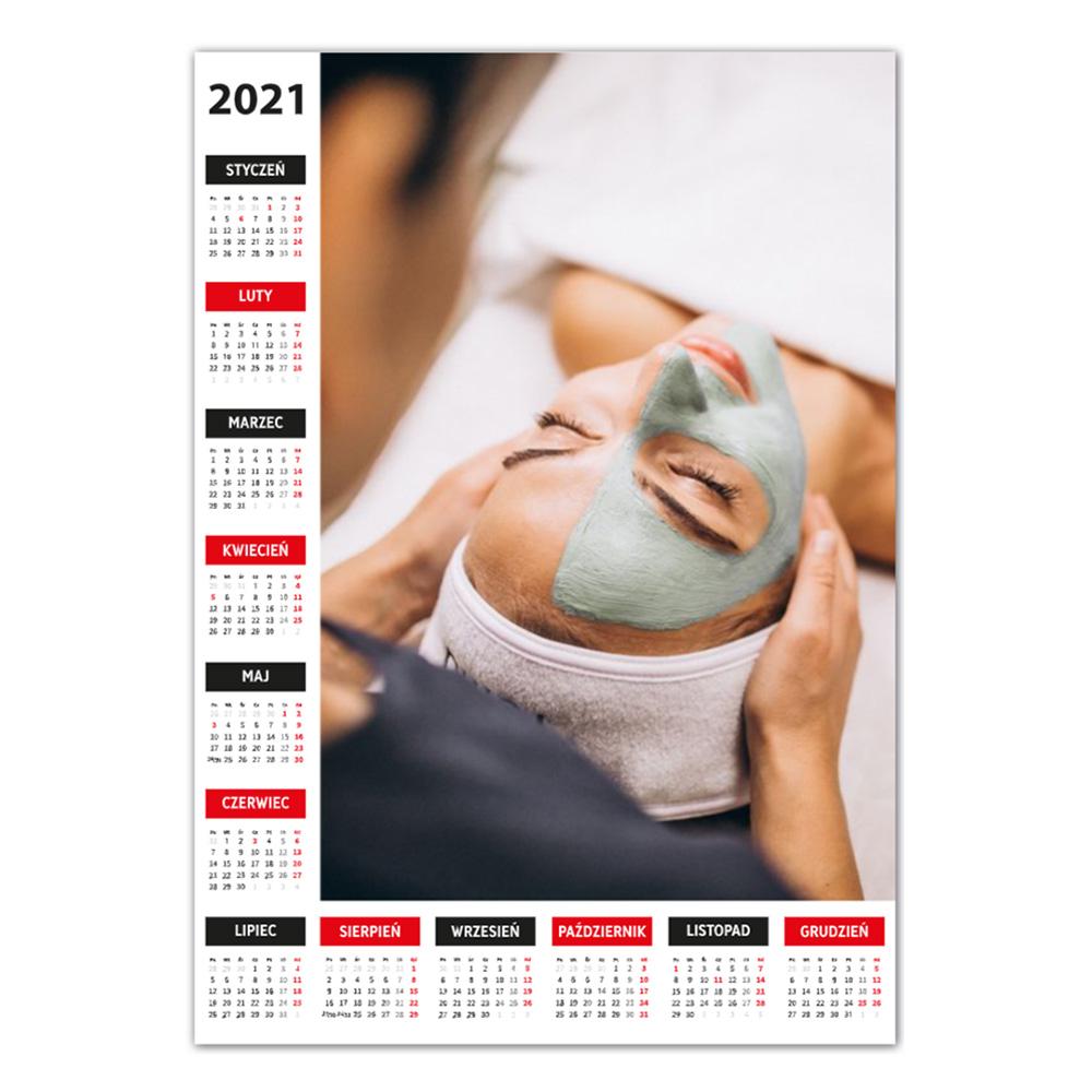 Kalendarz Plakatowy maxi foto A3