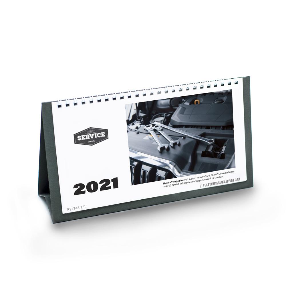 Kalendarz Biurkowy z imieninami + nazwa firmy