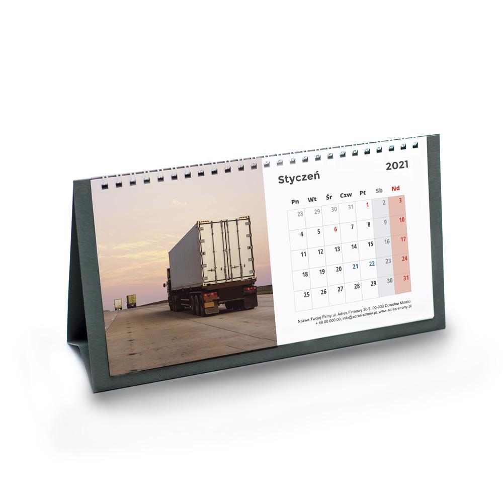 Kalendarz Biurkowy Terminarz bez imienin + nazwa firmy