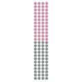 Naklejka dekoracyjna na ścianę różowo szare kropki