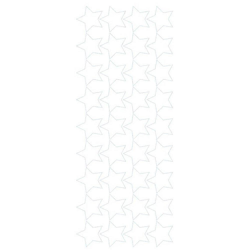 Naklejka dekoracyjna na ścianę białe gwiazdki