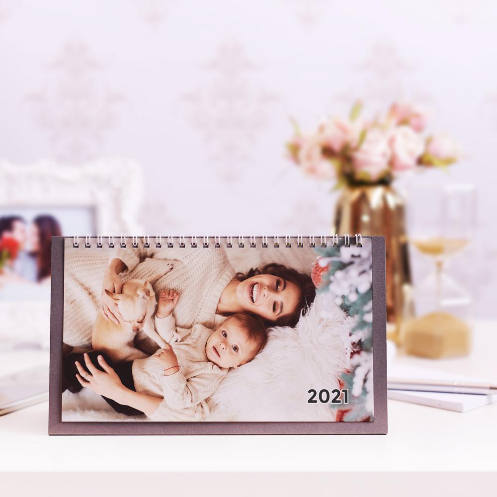 Kalendarz Biurkowy ze Zdjęć kreator