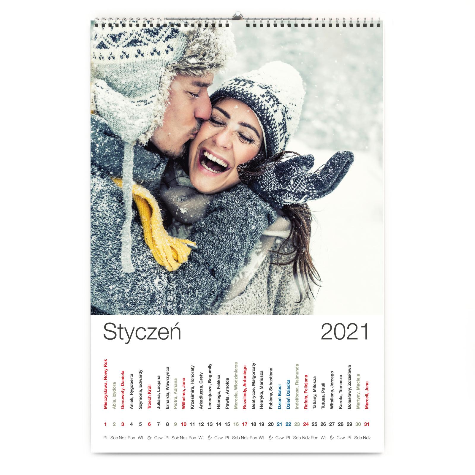 Kalendarz Foto A3+ pionowy 13 kartek