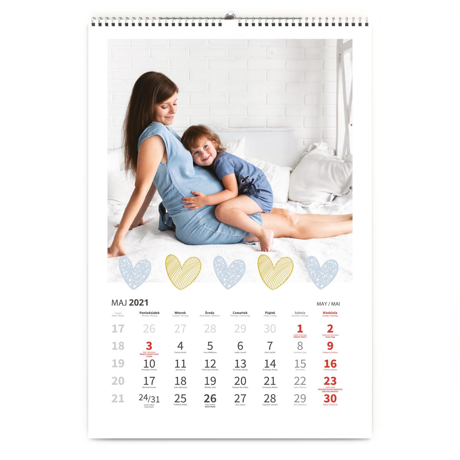 Kalendarz ze zdjęć dla Zakochanych