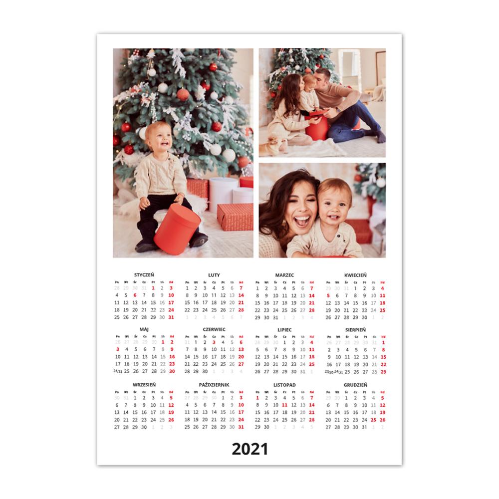 Kaledarz ze zdjęciami A3+