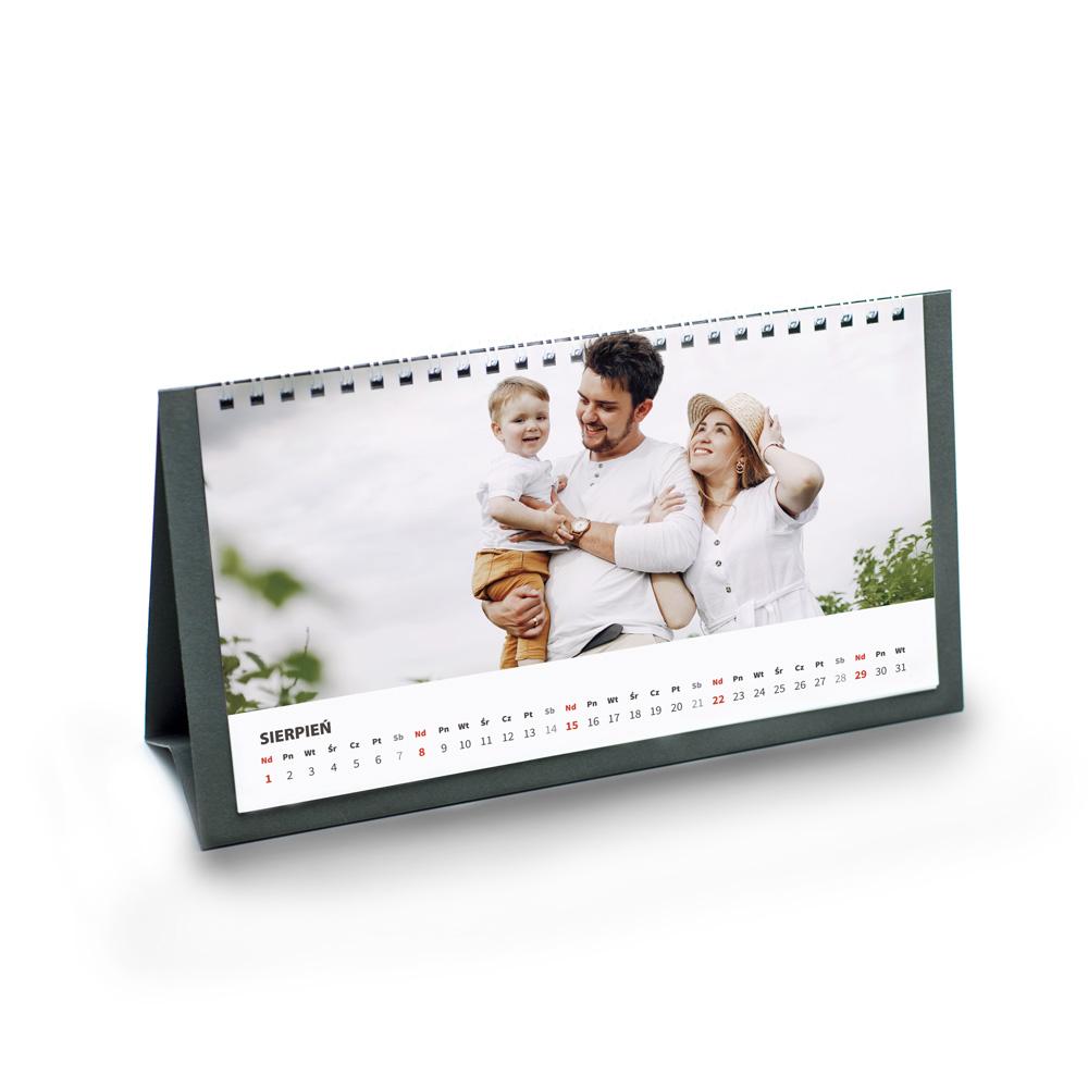 foto Kalendarz na prezent na święta biurkowy