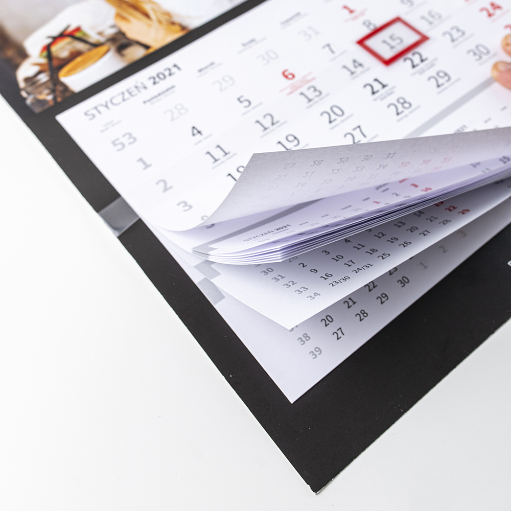 foto Kalendarz na prezent dla Babci jenodzielny