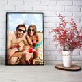 foto Plakat na prezent dla taty z własnym zdjęciem A3