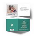 Kartka świąteczna Boże Narodzenie ze zdjęciem choinka