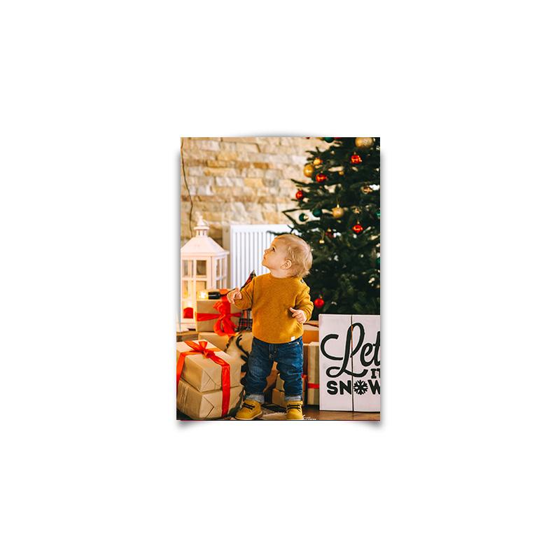foto Plakat na prezent na święta A3