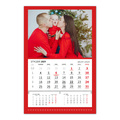 foto Kalendarz na prezent na mikołajki jednodzielny