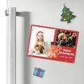 Magnes świąteczny ze zdjęciem na lodówkę pierniczek 15 x 10 cm