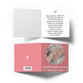 Kartka ze zdjęciem na Dzień Babci różowe serduszka