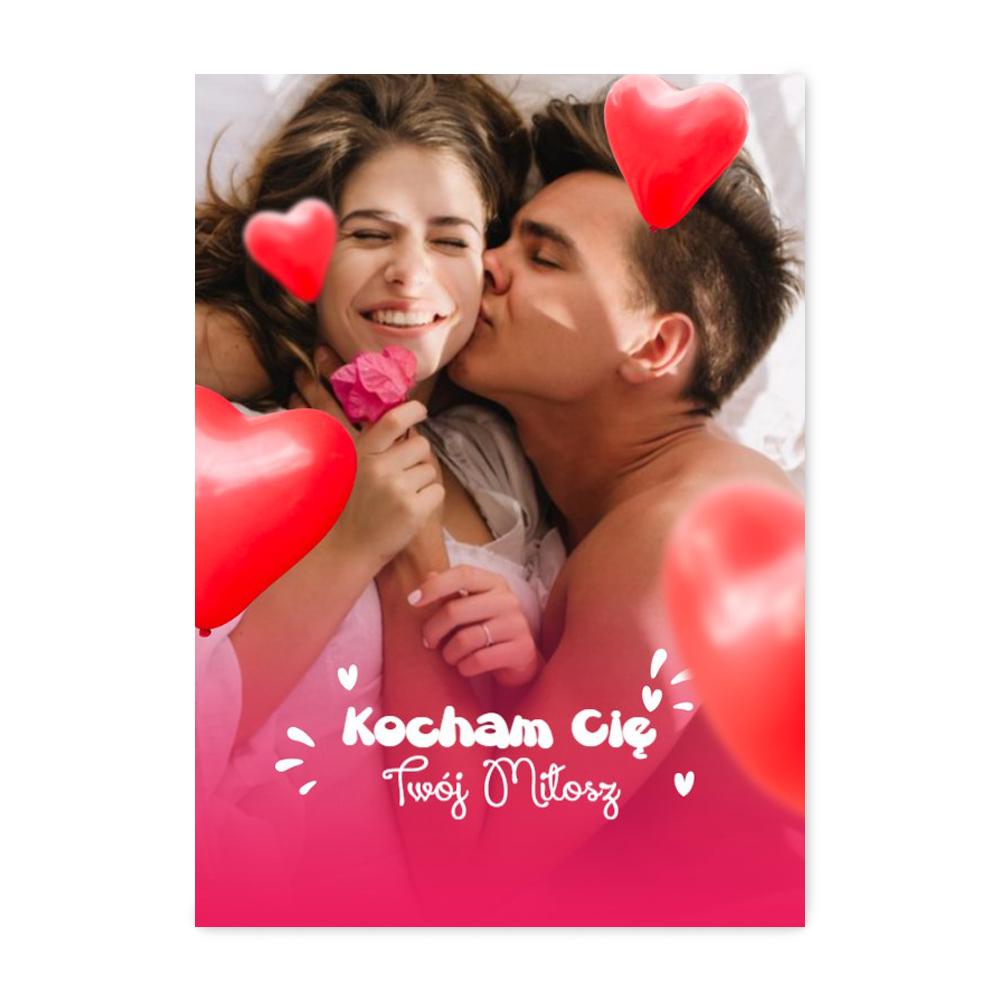 foto Plakat ze zdjęciem dla chłopaka baloniki B2