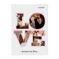 Plakat z własnych zdjęć do ramki ikea 50x70 dla chłopaka LOVE prezent na Walentynki