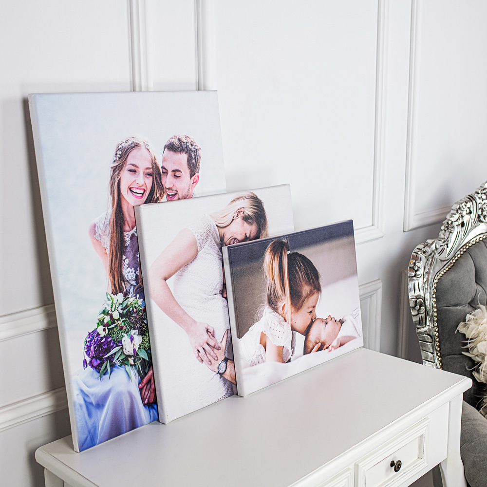 fotoObraz na walentynki na płótnie dla chłopaka 40x40 cm