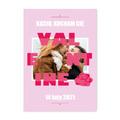 Plakat ze zdjęć do ramki ikea 30x40 prezent na Walentynki dla pary