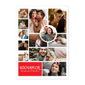 fotoPlakat dla chłopaka ze zdjęciem prezent na Walentynki kolaż zakochanych A3