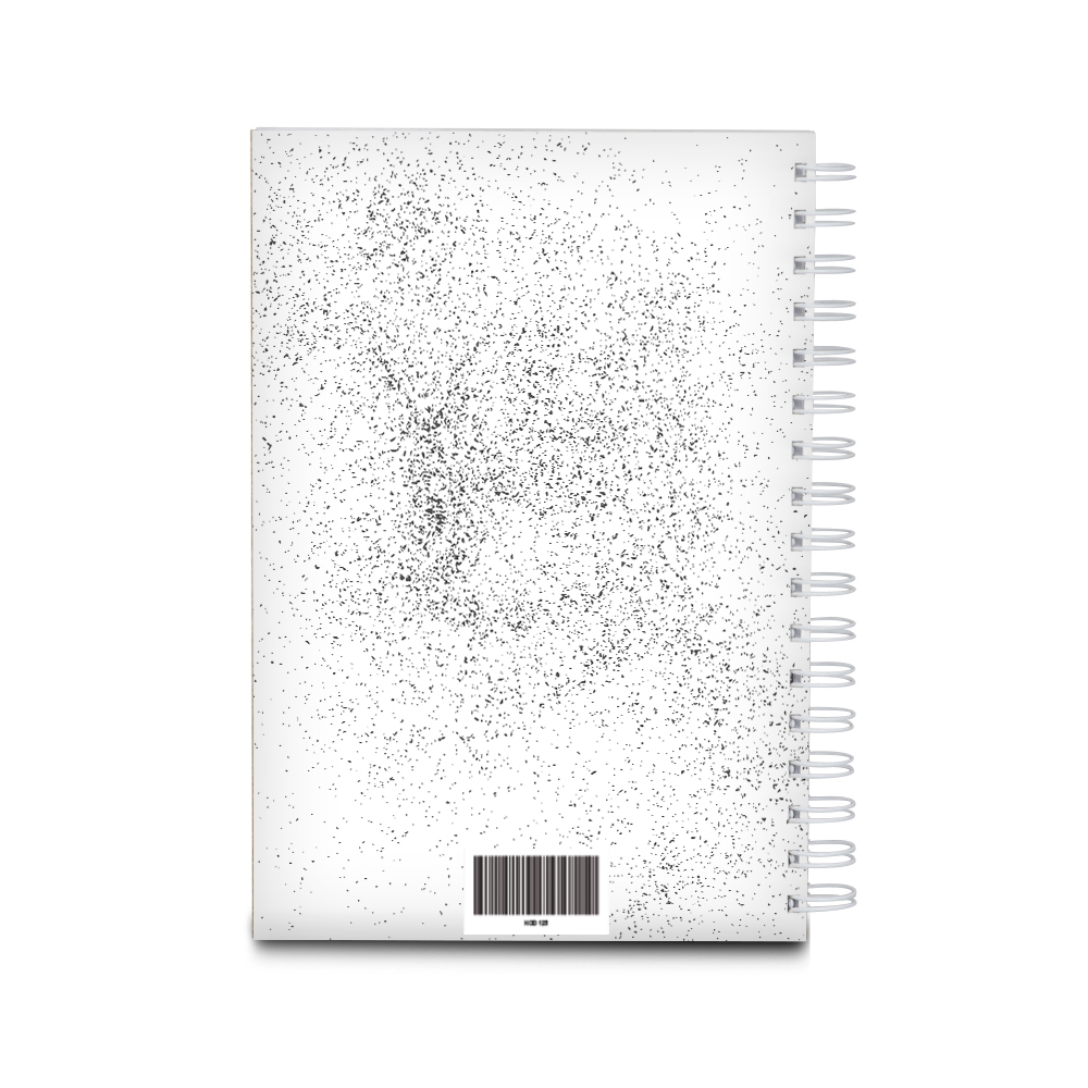 Notes personalizowany na spirali twarda oprawa 60 kartek aparat na walentynki dla dziewczyny