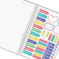 Notes personalizowany na spirali twarda oprawa 60 kartek awokado na walentynki dla dziewczyny