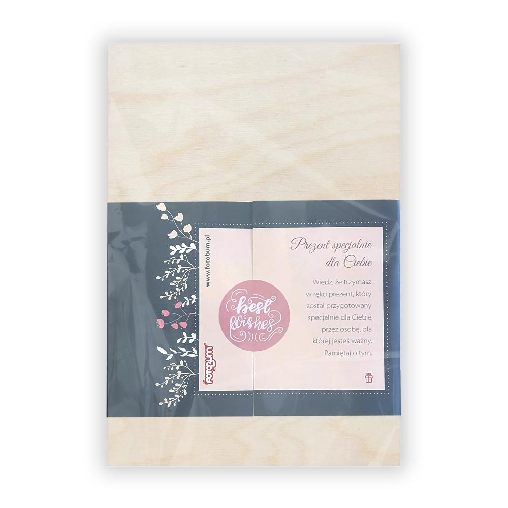 Deska z nadrukiem na prezent dla Babci królowa