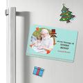 foto magnes ze zdjęciem dla Dziadków zielony 15 x 10 cm