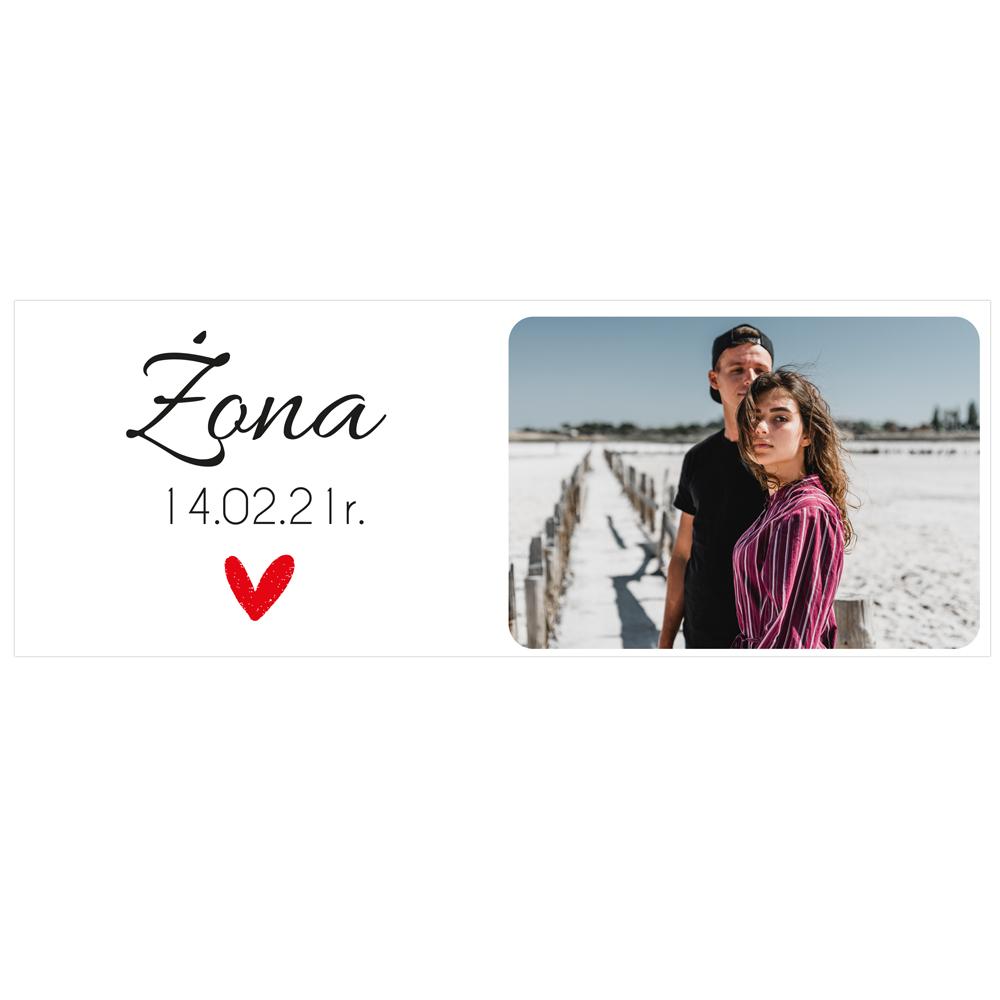 Foto kubek personalizowany ze zdjęciem dla żony