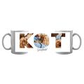 Kubek ze zdjęciami personalizowany dla właściciela kota