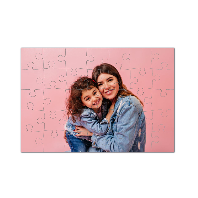 fotoPuzzle ze zdjęcia 35 elementów na Dzień Kobiet