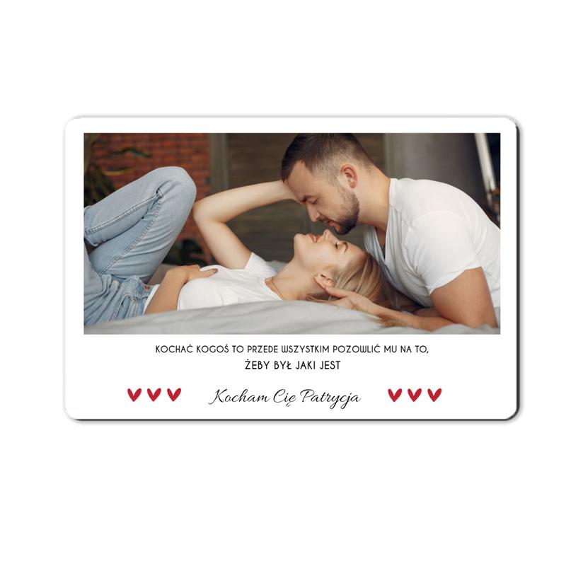 foto magnes ze zdjęciem personalizowany panorama 15 x 10 cm na Dzień Kobiet