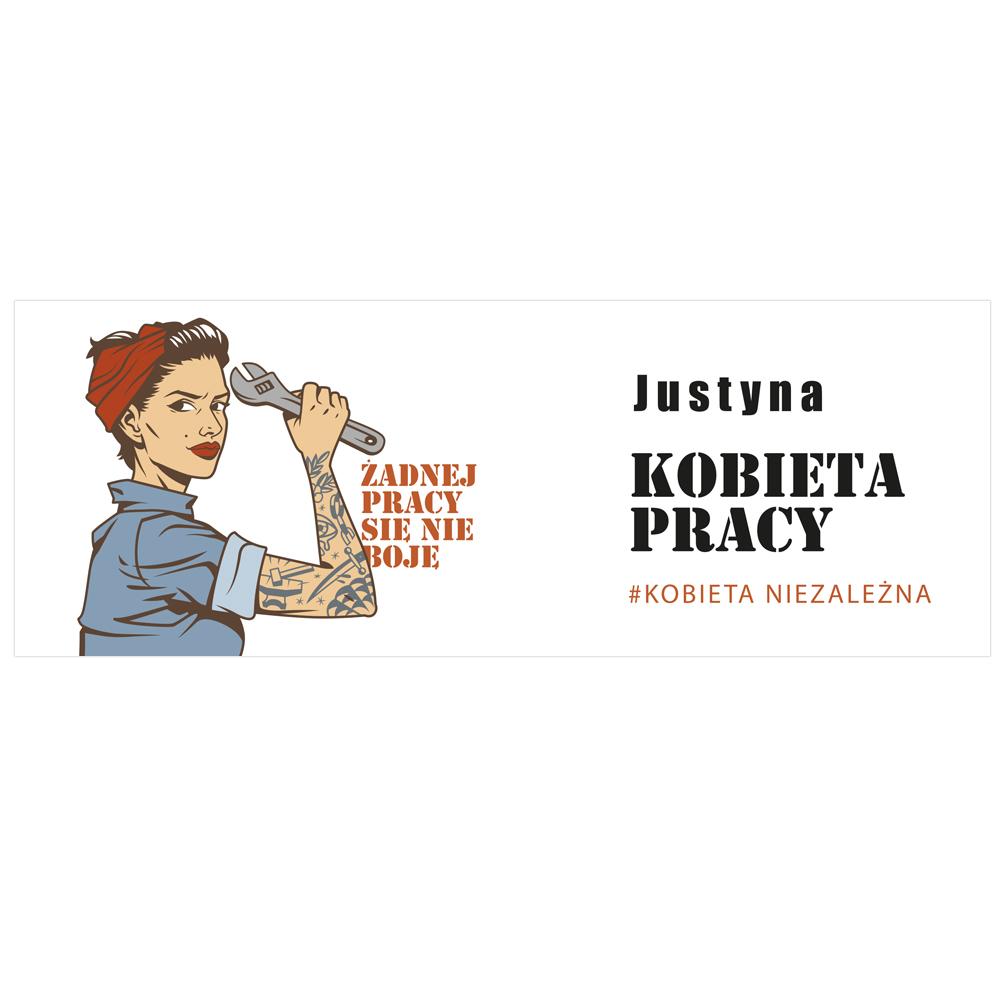 Kubek personalizowany na Dzień Kobiet kobieta niezależna