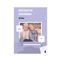 foto Plakat samoprzylepny z własnym zdjęciem minimalistyczny fioletowy B2