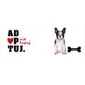 Kubek personalizowany buldog francuski nie kupuj adoptuj