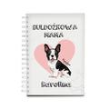 Notatnik personalizowany dla miłośnika psa mama buldoga