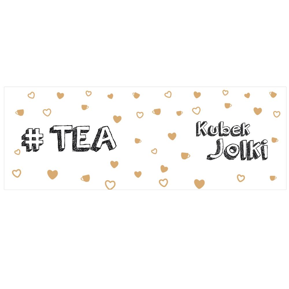 Kubek personalizowany na herbatę z własnym imieniem