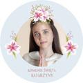 Magnesy personalizowane podziękowania dla gości pastelowe kwiaty ze zdjęciem