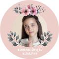 Magnesy personalizowane dla gości z własnym zdjęciem różowe kwiaty