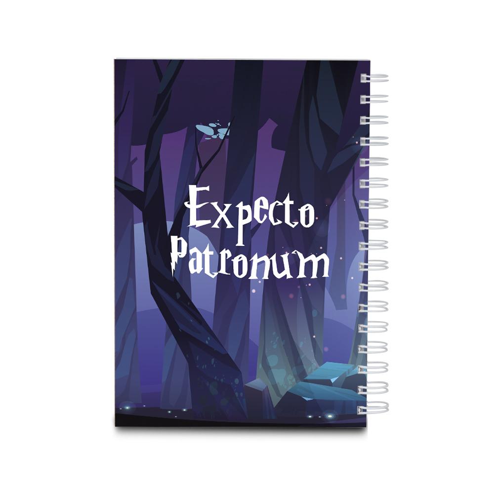 Notes personalizowany dla fana Harry Potter patronus