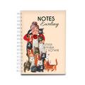 Notes personalizowany miłośnik kotów na prezent dla kociary kociej mamy