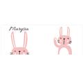 Kubek personalizowany dla dziecka z króliczkiem