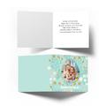 Kartka personalizowana na Wielkanoc ze zdjęciem jajko pisanka