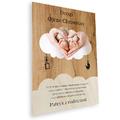 Deska z nadrukiem na prezent dla Ojca Chrzestnego na Chrzest