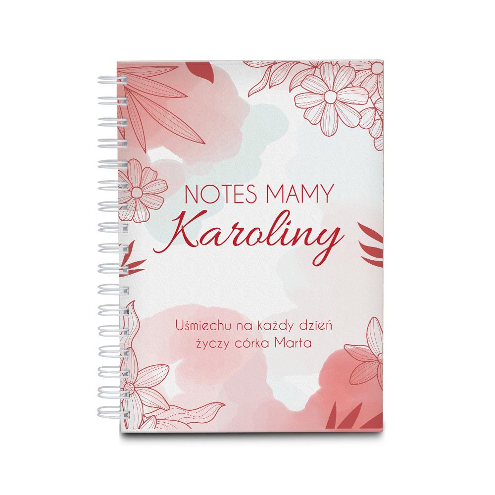 Notes personalizowany na dzień mamy na prezent od dziecka