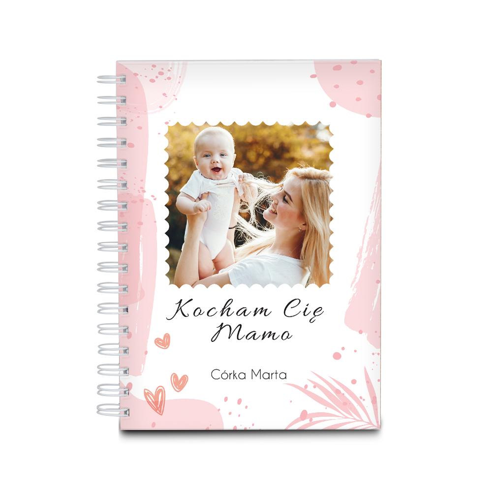 Notatnik personalizowany dla mamy ze zdjęciem na prezent na Dzień Matki