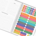 Przepiśnik zeszyt notes na przepisy A5+ przez żołądek do serca prezent na Dzień Mamy