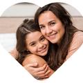 Magnesy personalizowane ze zdjęciem serce na prezent na Dzień Mamy