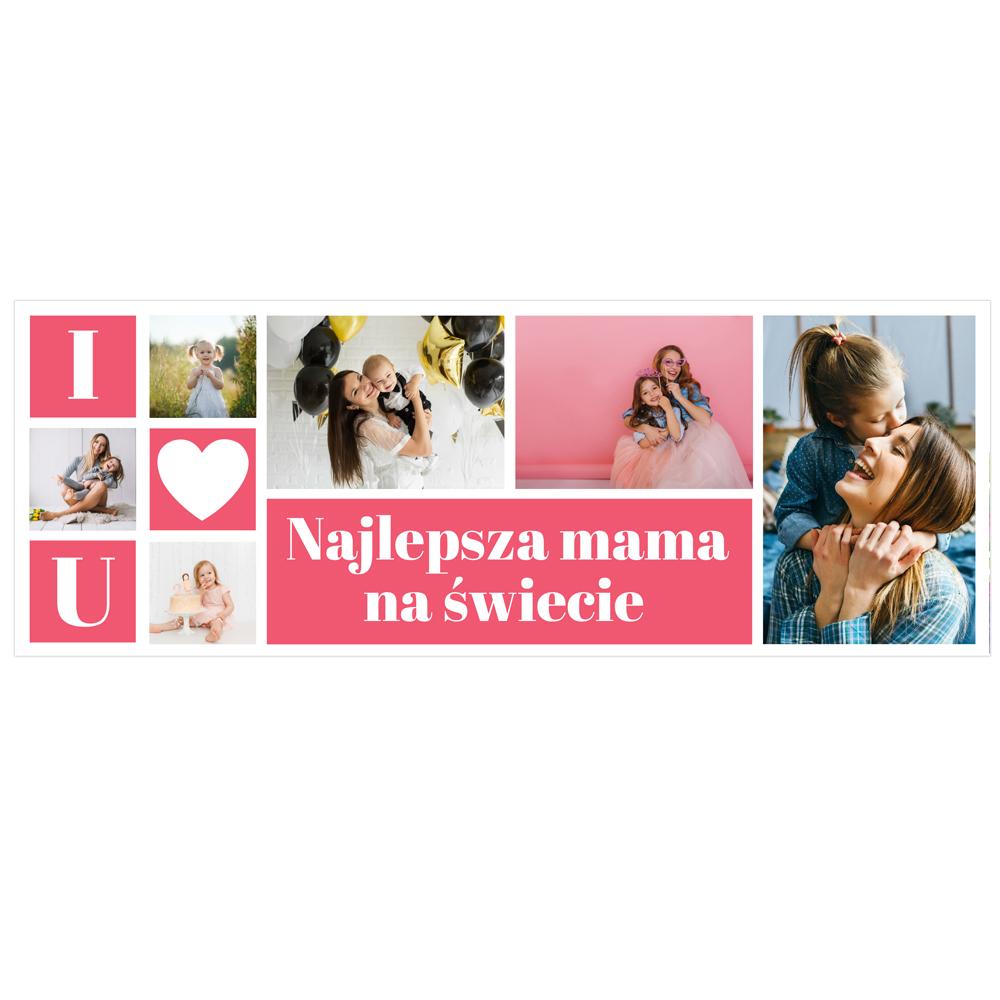Kubek personalizowany na Dzień Mamy najlepsza mama na świecie